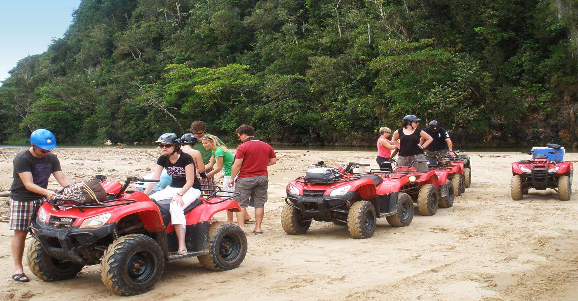One of the Best Excursions in Samana : ATV Quad in Samana Dominican Republic from Las Terrenas.