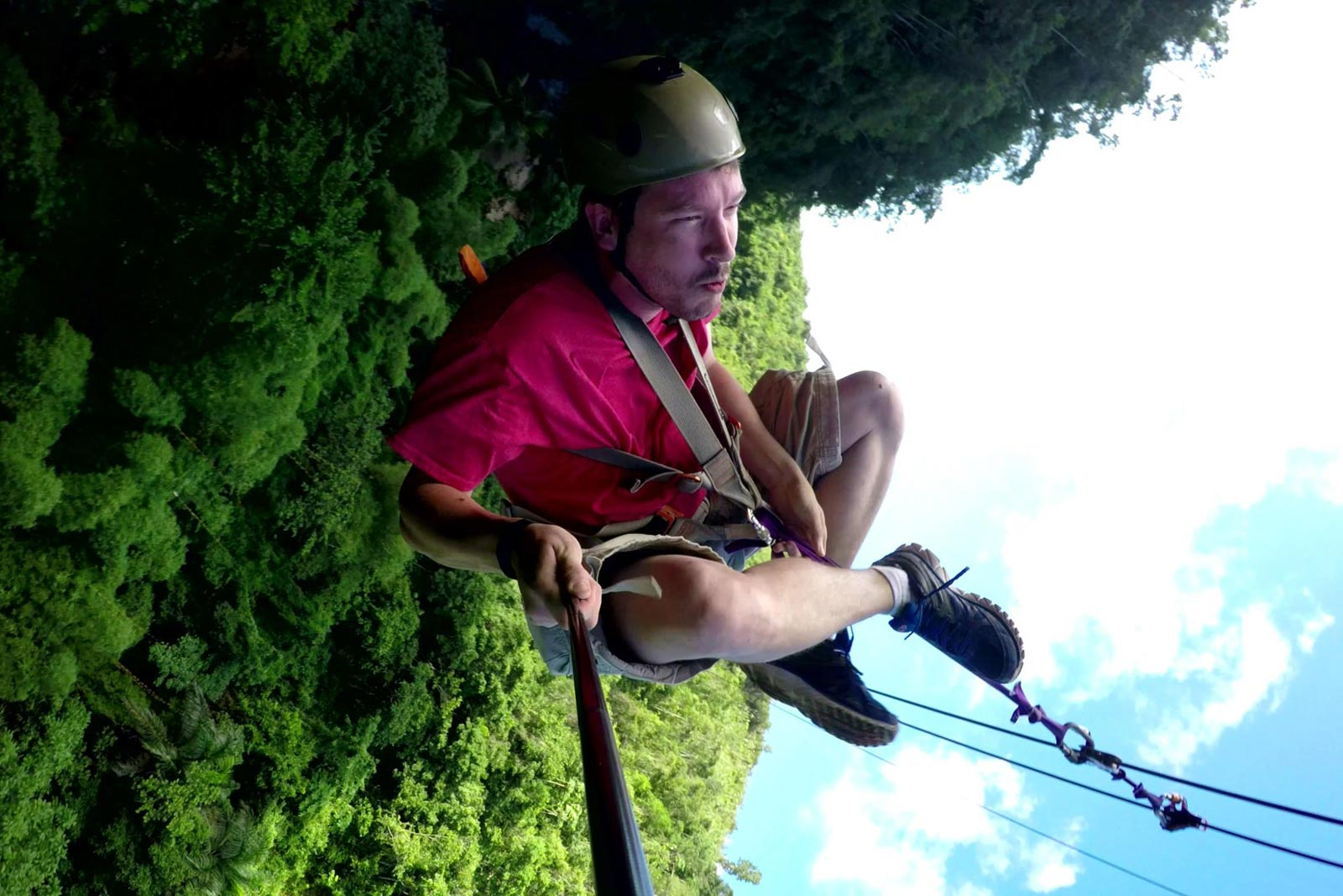 Samana Zipline Tour from Las Terrenas town DR.
