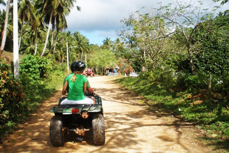 Four Wheeler Excursion in Samana Dominican Republic from Las Terrenas DR.